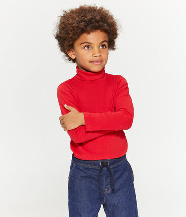 Sottogiacca bambino unisex rosso Terkuit