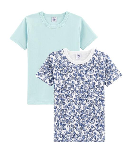Lotto di 2 t-shirt maniche corte bambino lotto .