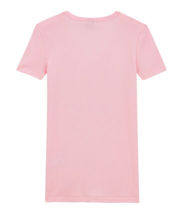 T-shirt donna scollo a V In costina originale 1X1