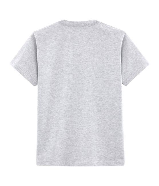 T-shirt unisex fantasia cartolina postale grigio Poussiere Chine