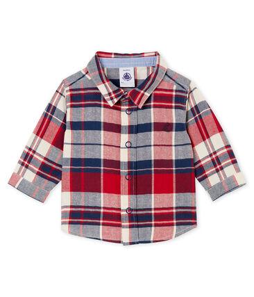 Camicia a quadretti per bebé maschio