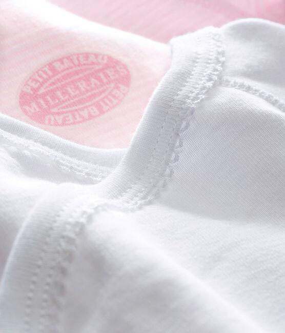 Confezione di 2 bodies nascita unisex maniche lunghe tinta unita lotto .