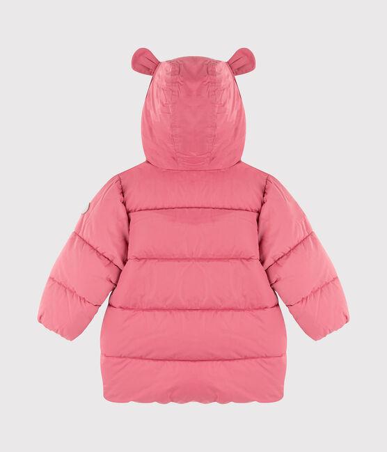 Piumino trapuntato a tinta unita bebè femmina rosa Cheek