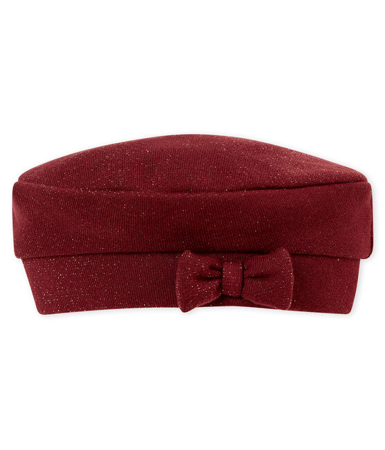 Cappello per bebé femmina rosso Ogre