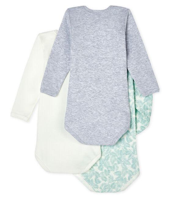 Trio body manica lunga bebè lotto .