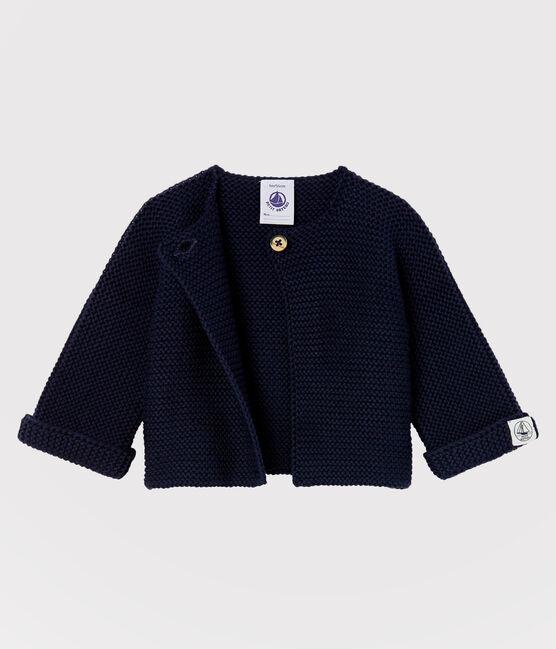 Cardigan bebè in tricot 100% cotone SMOKING
