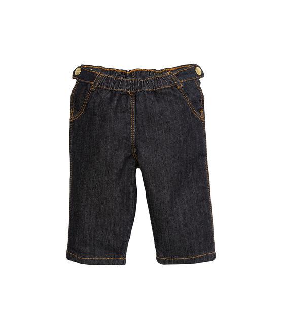 Pantaloni bebé bambina in denim blu Jean