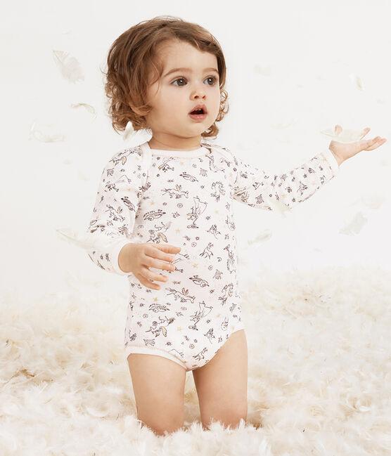 Confezione da 5 body a manica lunga bebè bambina lotto .