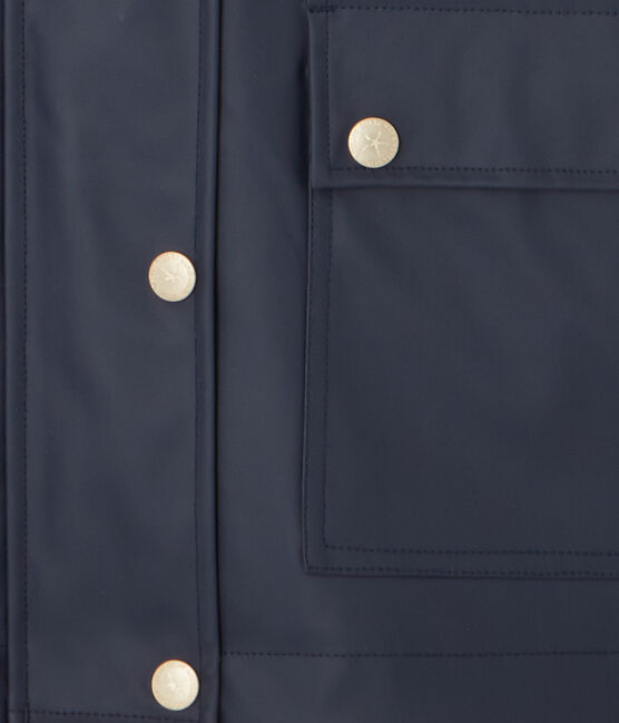 Giacca taglio tailleur per donna. Petit bateau x Marie-Agnès Gillot blu Smoking