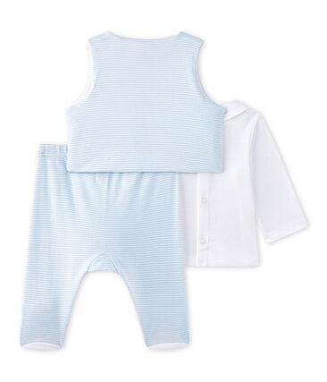 Coordinato 3 pezzi per bebé maschio