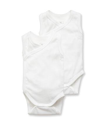Duo body nascita senza maniche bebè unisex