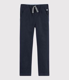 Pantaloni caldi bambino blu Smoking