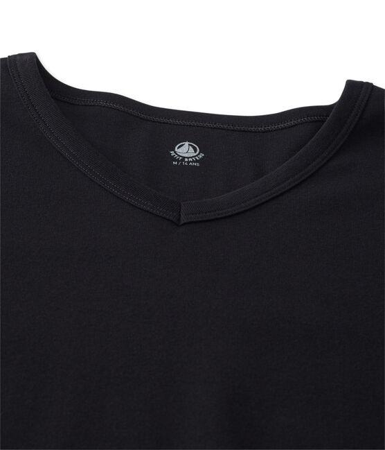 T-shirt manica corta iconica uomo nero Noir