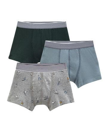 Lotto di 3 boxers per bambino