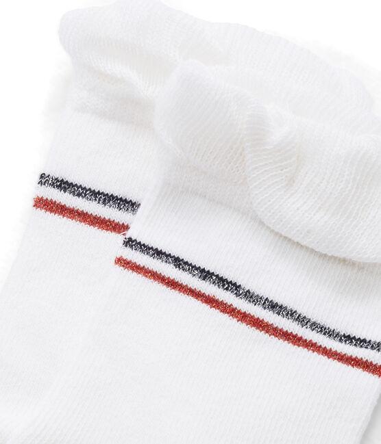 Calzini bambina bianco Marshmallow