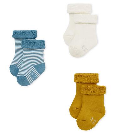 Lotto da 3 paia di calzini bebè unisex