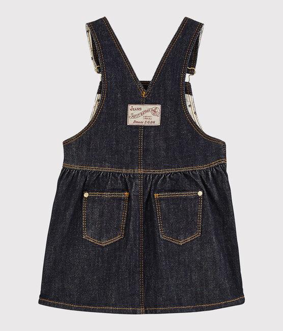 Abito salopette bebè femmina di jeans JEAN