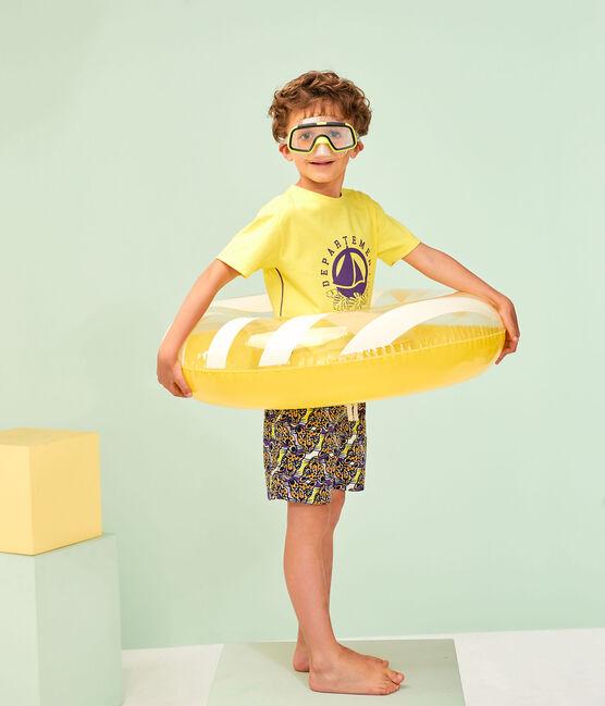 T-shirt bambino giallo Sunny