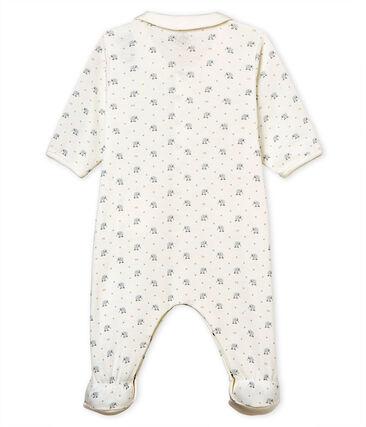 Tutina pigiama bebè maschietto a costina 1x1 fantasia