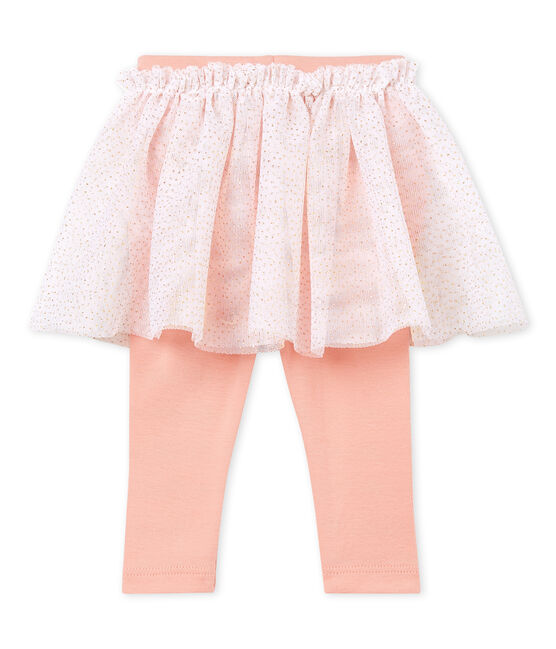 Gonna legging bambina bianco Marshmallow Cn