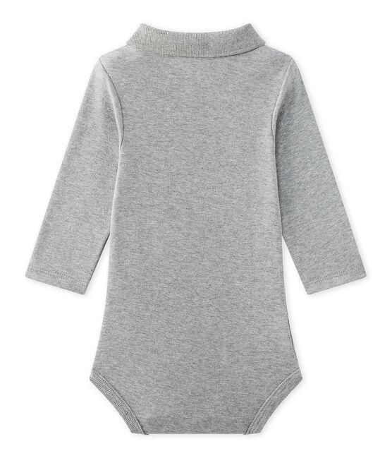 Body bebé maschio con colletto grigio Subway Chine