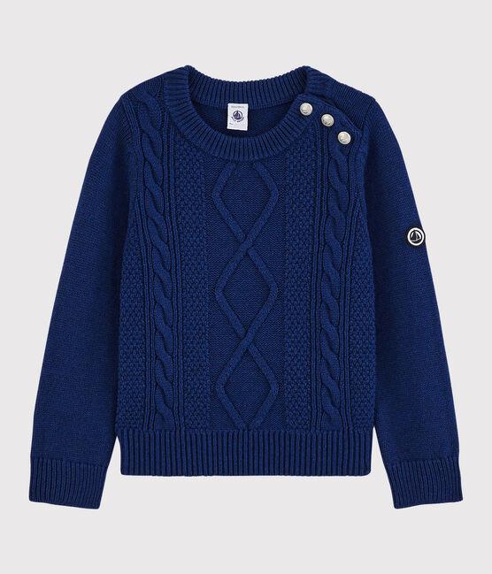 Pullover in lana e cotone bambino MAJOR