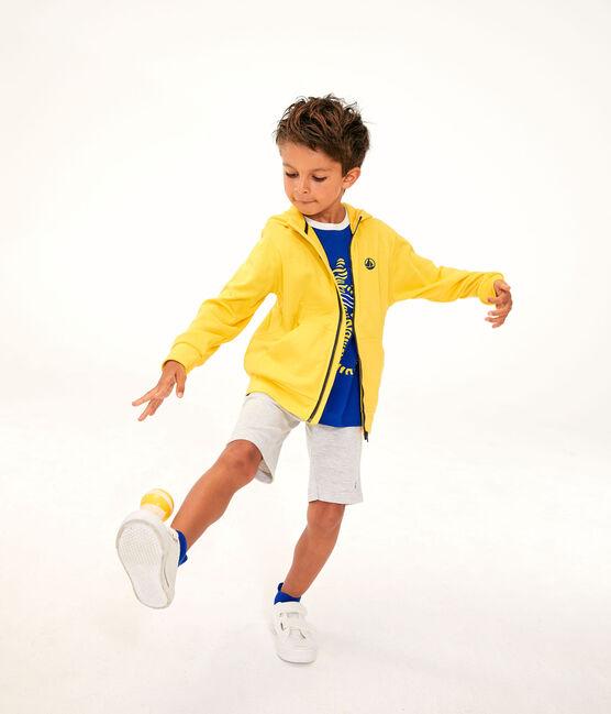 Felpa bambino giallo Shine