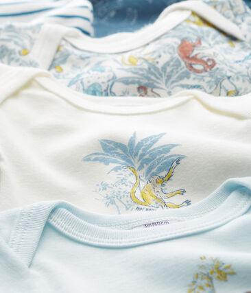 Confezione da 5 body manica lunga bebè bambino in cotone