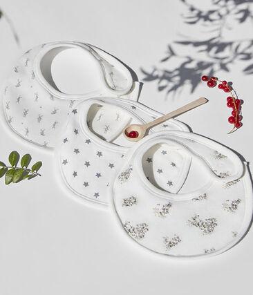 Bavaglino lapinou bianco Lait / bianco Multico