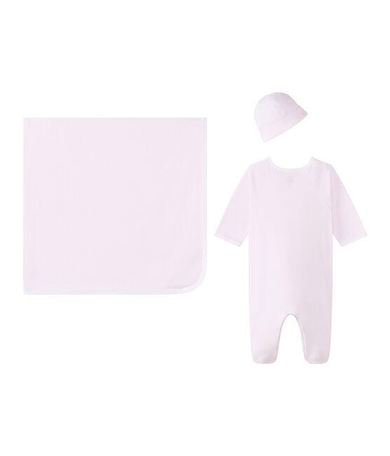Scatola regalo per bebé unisex a costina 1x1 lotto .