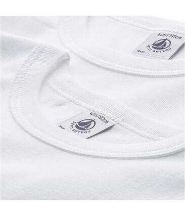 Confezione di 2 t-shirts tinta unita