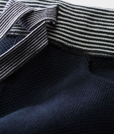 Pantalone maschietto in maglia a tinta unita