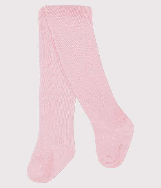 Collant in jersey a tinta unita bebè femmina rosa Vienne