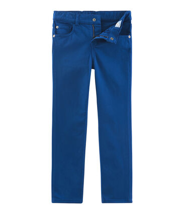 Pantalone bambino blu Limoges