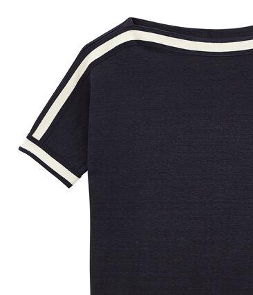 tee-shirtdonna maniche corte in lino