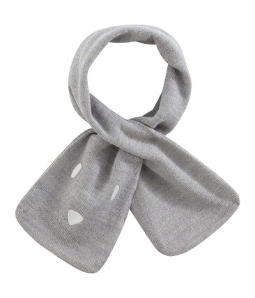 Sciarpa bebè unisex grigio Subway