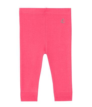 Leggings per bebè femmina rosa Peony