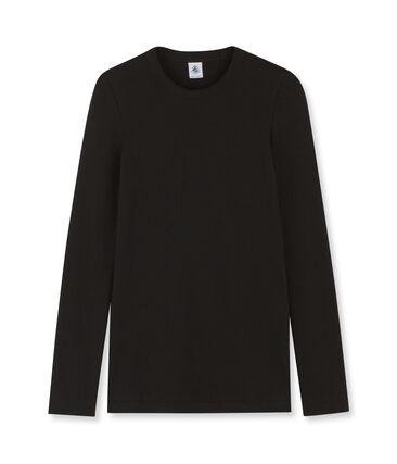 T-shirt iconica donna nero Noir