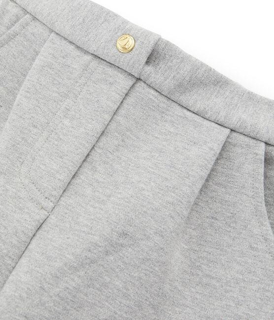 Pantalone in maglia bambina grigio Subway