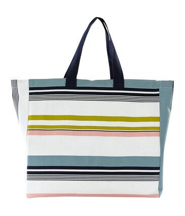 Shopper bianco Marshmallow / bianco Multico