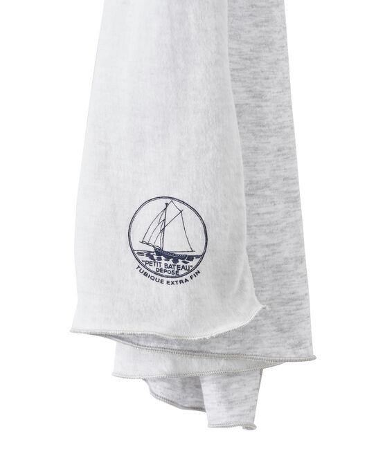 Sciarpa per donna grigio Poussiere / bianco Lait