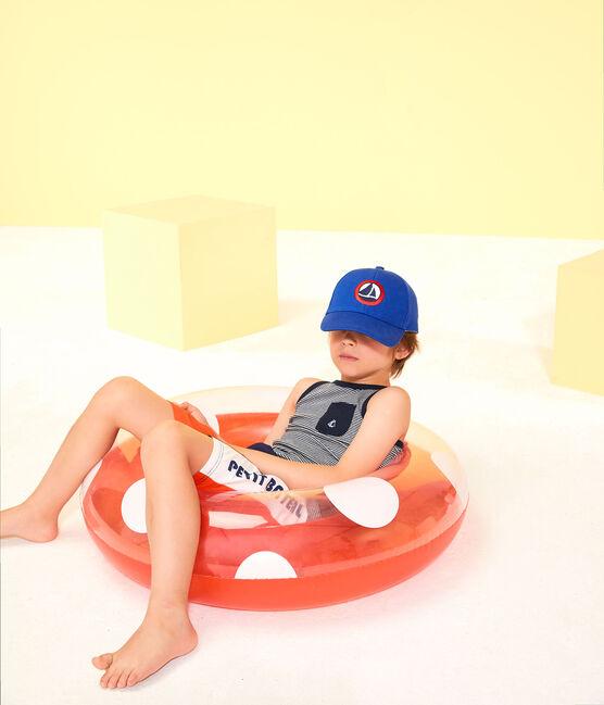 Cappellino in twill bambino blu Surf