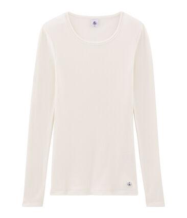 T-shirt calda donna bianco Marshmallow
