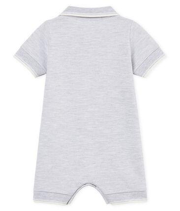 Tutina corta polo bebè maschio