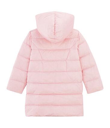 Piumino da bambina rosa Fleur Cn