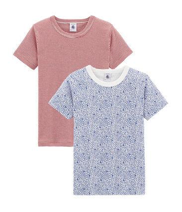 Duo t-shirt bambino maniche corte lotto .