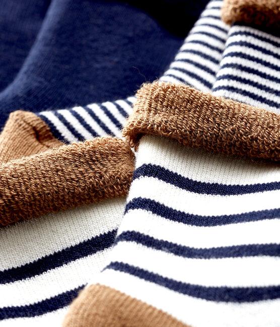 Set formato da 3 paia di calzini in spugna, soffici e confortevoli. lotto .