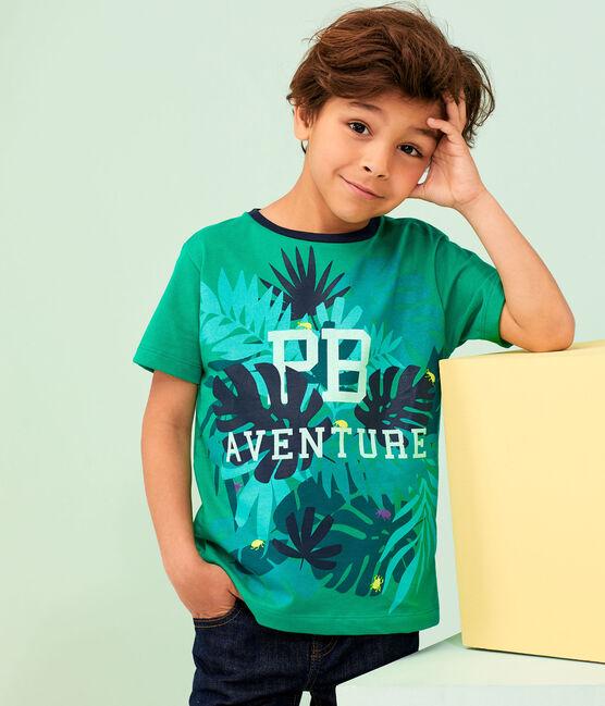 T-shirt bambino verde Prado
