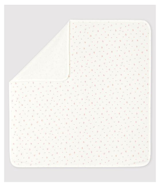 Lenzuolo maternità bebè in cotone biologico bianco Marshmallow / bianco Multico
