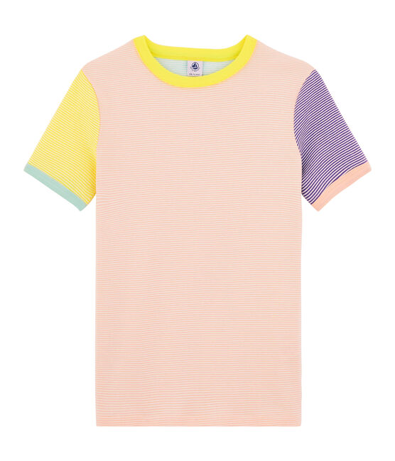 T-shirt iconica donna bianco Multico